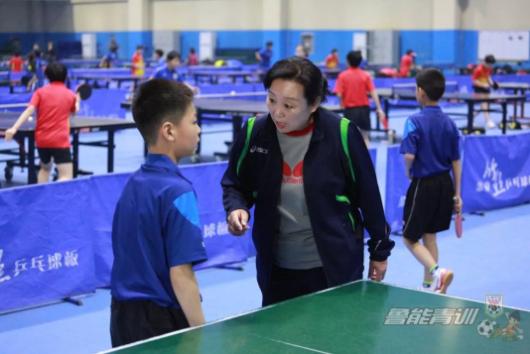 2019年鲁能乒校第一次教学比赛总结会议