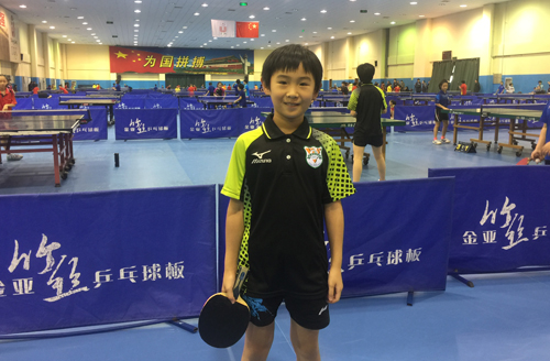 鲁能乒乓小将崭露头角 孙小蕾:梦想为国家队获更多荣誉