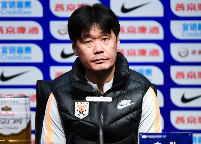 鲁能VS申花赛前新闻发布会