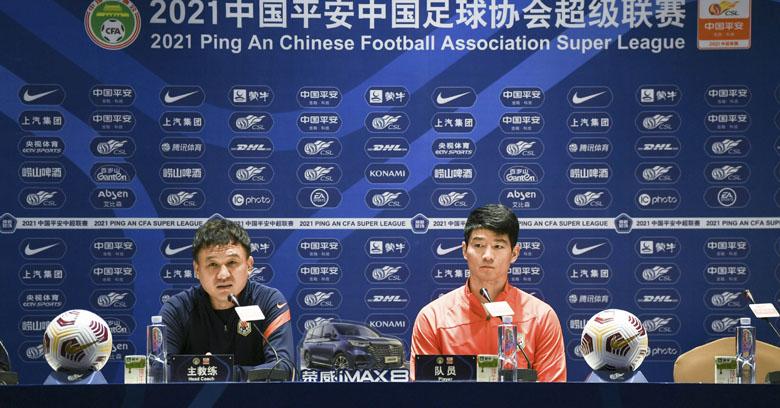 郝伟:国脚缺阵确有影响,全力以赴踢好比赛